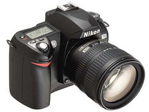 my new nikon d70