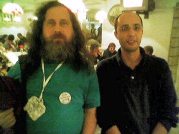 Richard Stallman and me